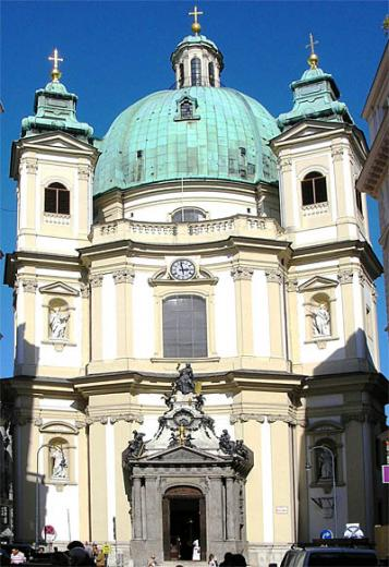 St Peter's Church in Vienna